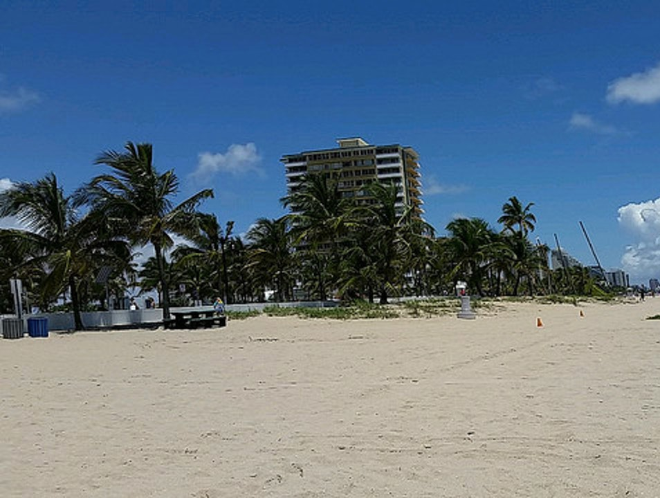 Beach Day Fort Lauderdale Florida United States