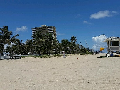 Fort Lauderdale Beach Park Fort Lauderdale Florida United States