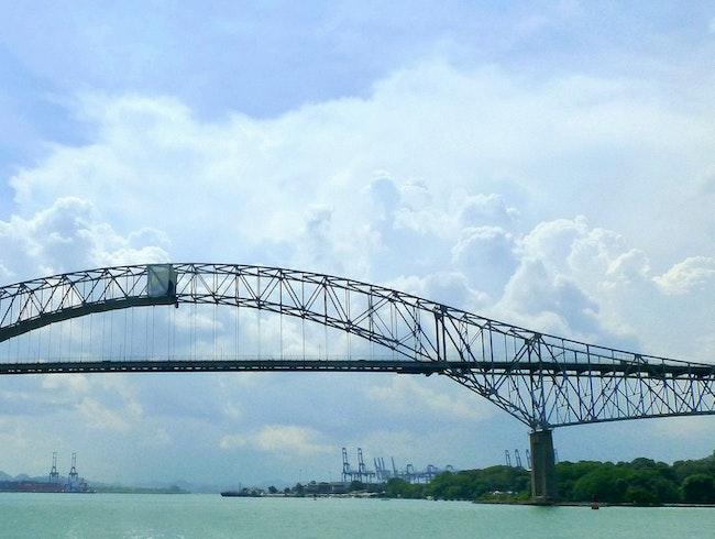 Drive Over the Bridge of the Americas