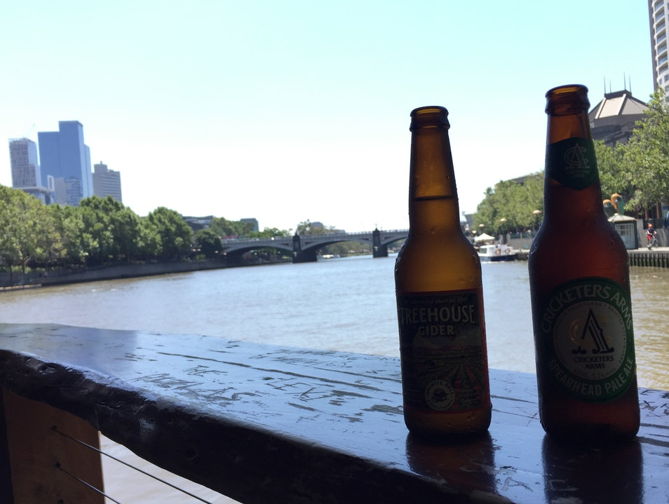 A New Spin on Riverside Drinking Southbank  Australia