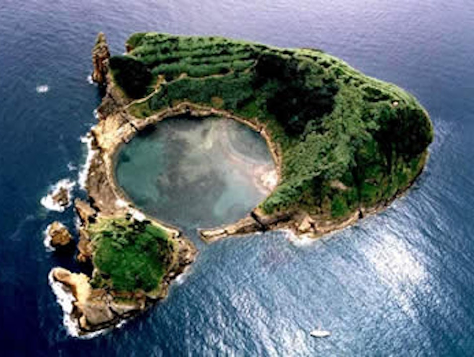 Snorkeling on your own private island in the Azores Vila Franca Do Campo  Portugal