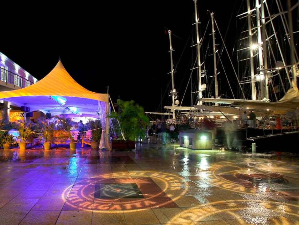 For a Regatta Night Out Gustavia  Saint Barthélemy