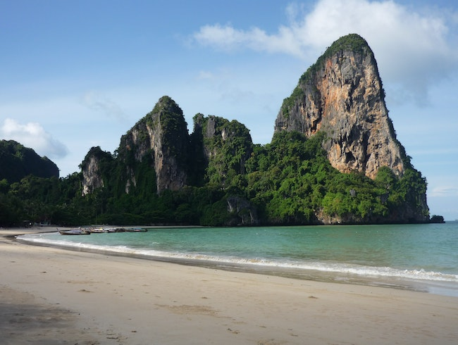 Railay Beach, Krabi Town, Thailand