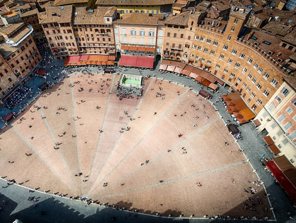 The Heart of Siena Siena  Italy