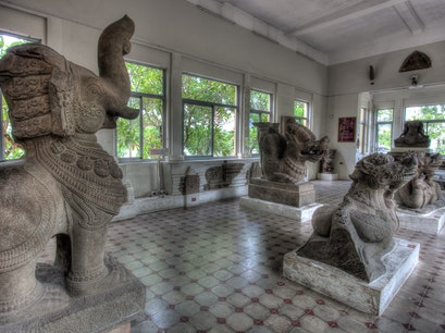 Museum of Cham Sculpture Da Nang  Vietnam