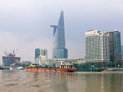 Bitexco Financial Tower Ho Chi Minh City  Vietnam