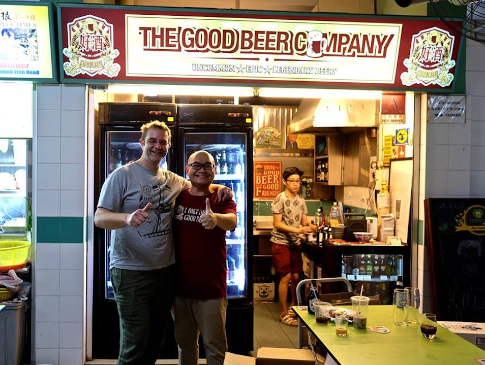 Good Beer, Hawker-style Singapore  Singapore