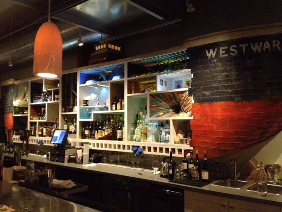 Dinner and Drinks at Westward