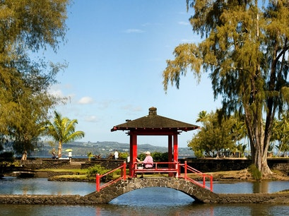 Liliuokalani Park and Banyan Drive Hilo Hawaii United States