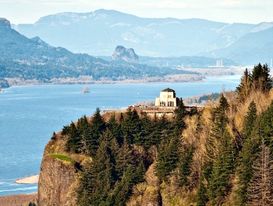 An Iconic Oregon Viewpoint, Only Better Corbett Oregon United States
