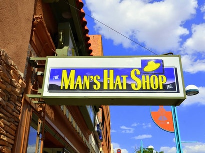 Man's Hat Shop Albuquerque New Mexico United States