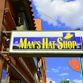 Man's Hat Shop