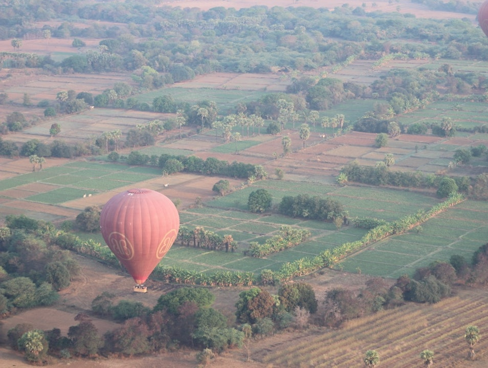 Epic balloon ride in Bagan, Myanmar