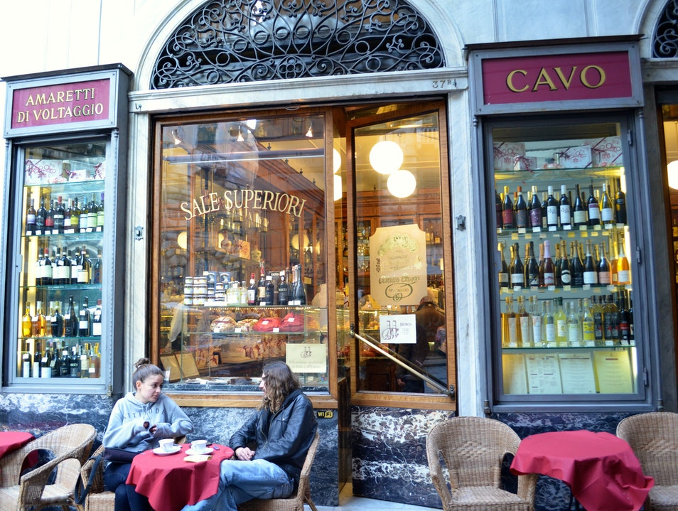 Try the cafe correcto Genoa  Italy
