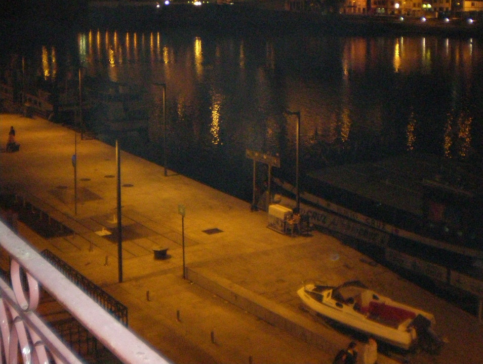 The Douro River at Night