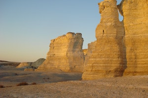 Monument Rocks National Natural Landmark