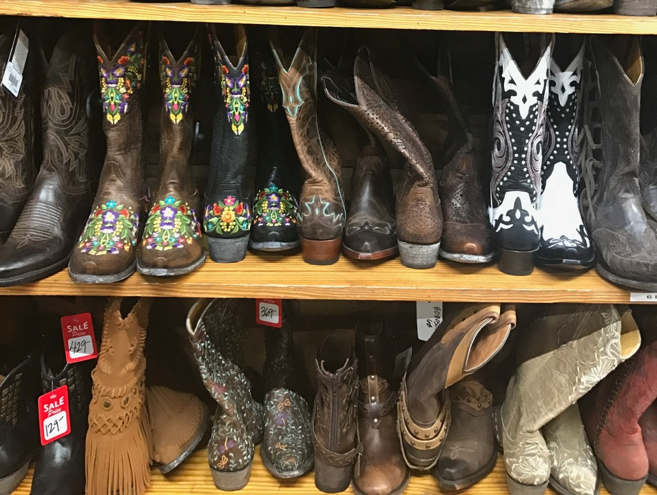 These Boots Were Made For Texas