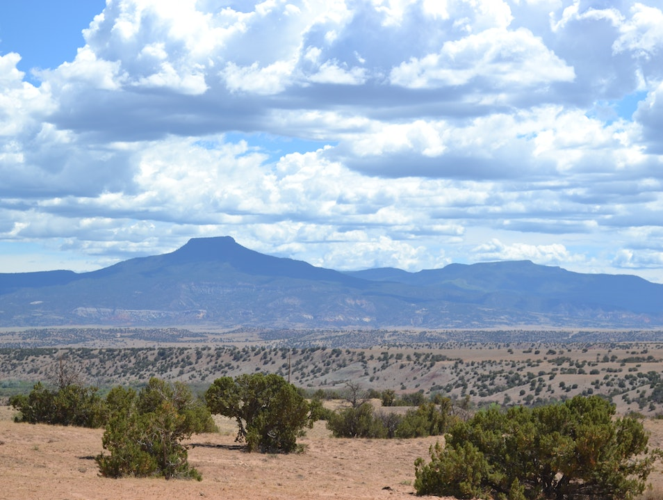 The Pedernal, as viewed from Ghost Ranch