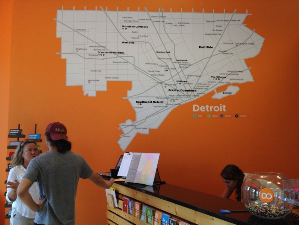 Stop Here First to Get the Lowdown on Detroit Detroit Michigan United States