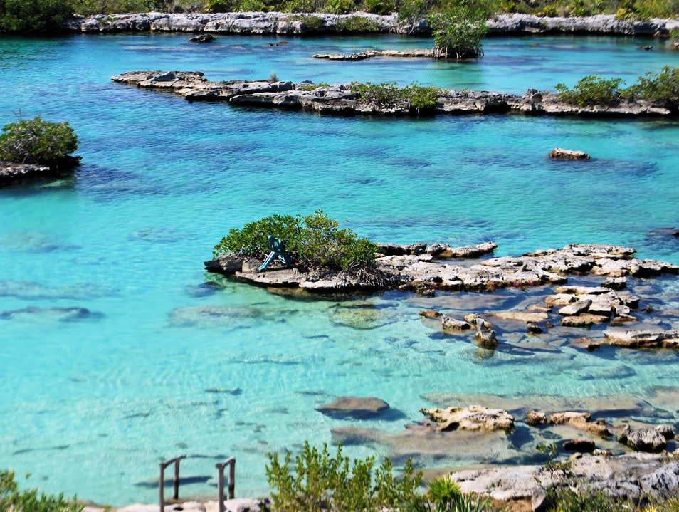 Snorkel in a Secluded, Calm Inlet Full of Sea Life Tulum  Mexico