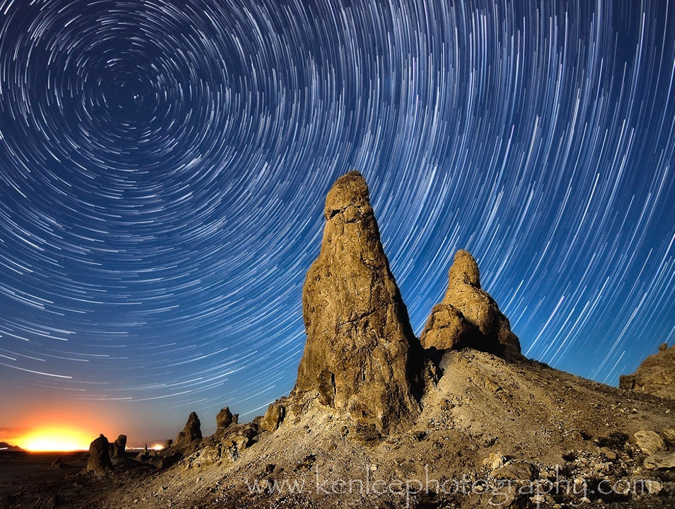 I Have The Heavens All To Myself - Trona Pinnacles Searles Valley California United States