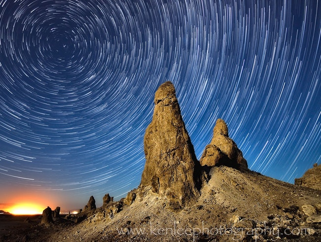 I Have The Heavens All To Myself - Trona Pinnacles