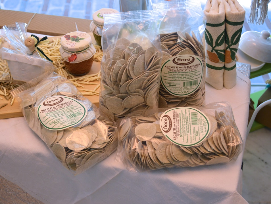 Shop for Genovese food (and handmade art) in one place Genoa  Italy