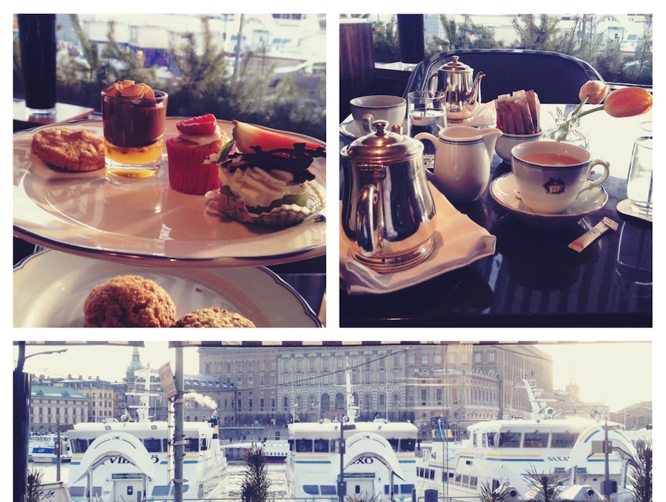 Afternoon Tea at the Grand Hotel