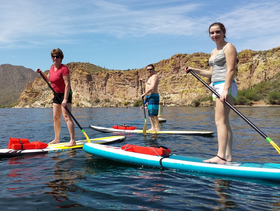 Stand Up Paddleboarding in Mesa Mesa Arizona United States
