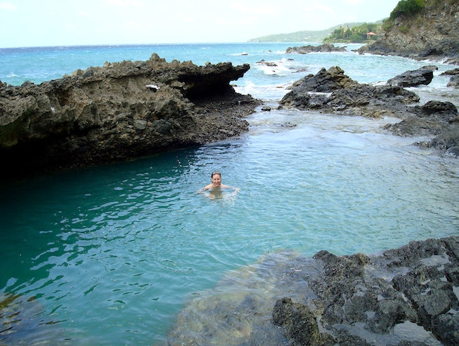 Hike to the Natural Pools at Annaly Bay