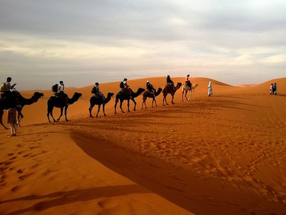 Fes to Merzouga 2 Days Desert Tour, Camel trek overnight from Fes,