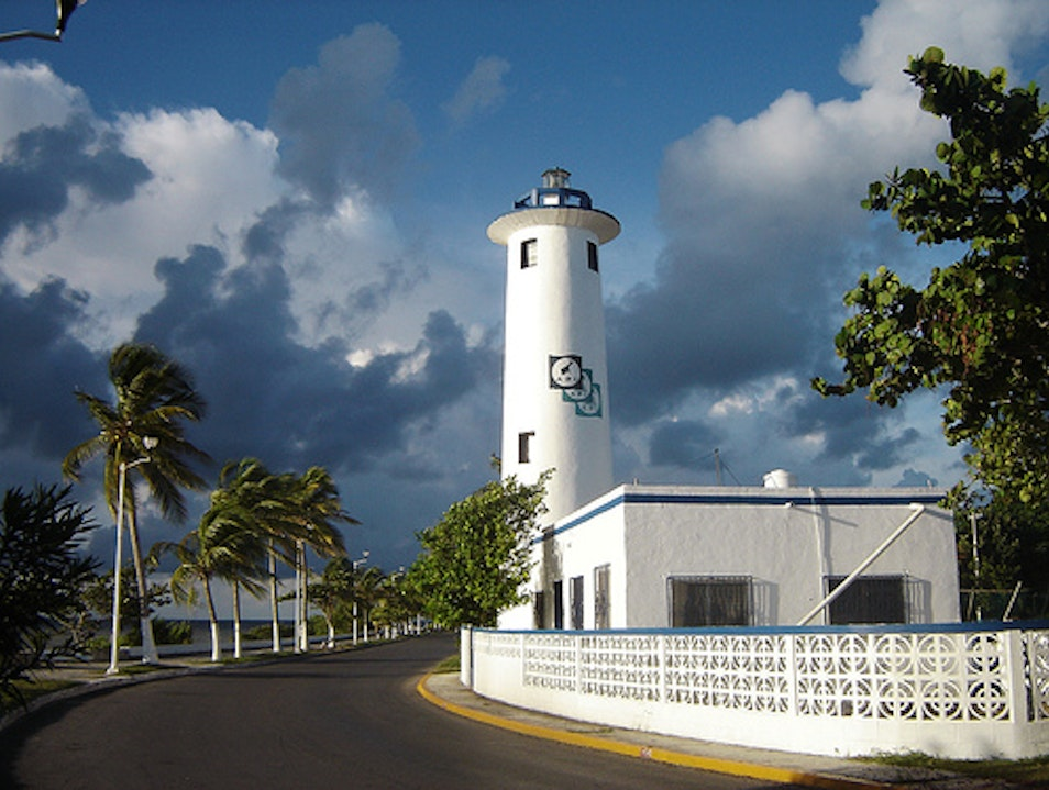 This is Mexico:  El Faro de Chetumal Chetumal  Mexico