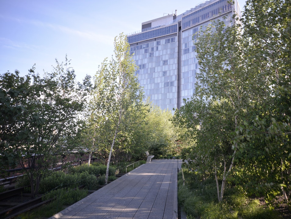 Jogging on the High Line