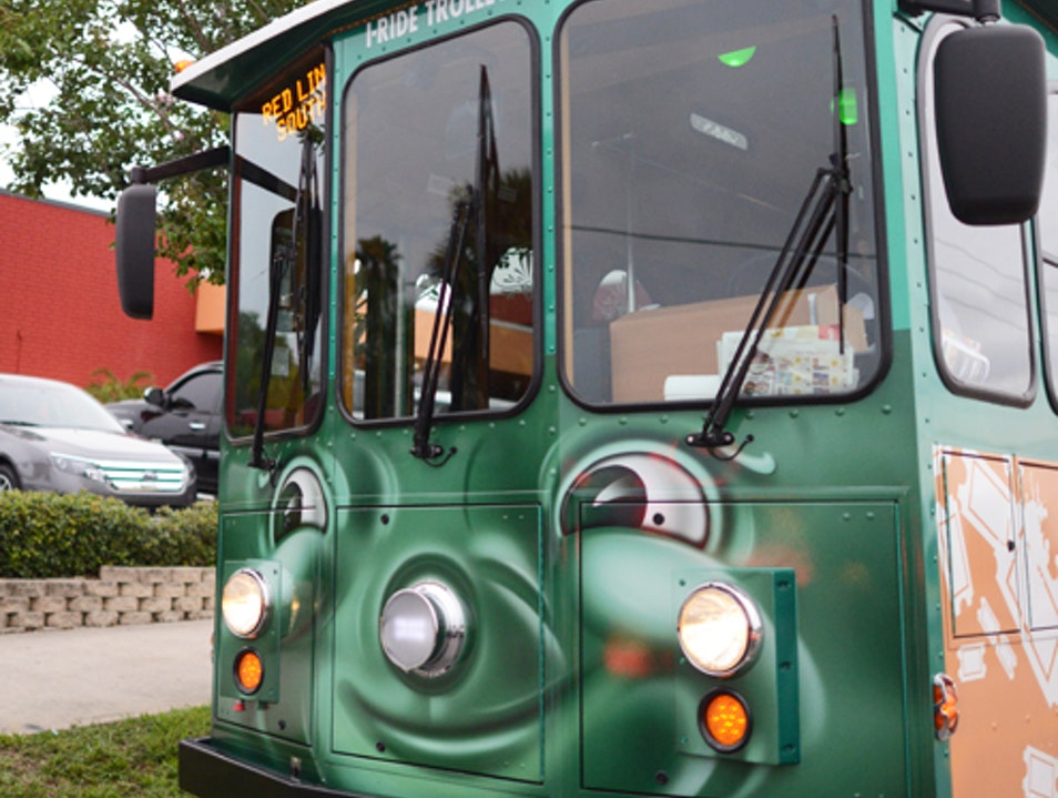 Green and Stress-free I-Ride Trolley