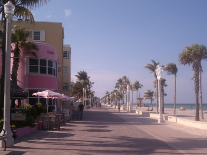 Boardwalk Fort Lauderdale Florida United States