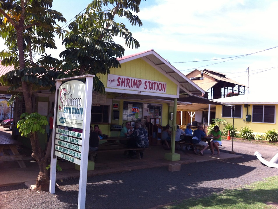 Shrimp Shack Waimanalo Hawaii United States