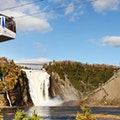 Montmorency Falls Quebec City  Canada