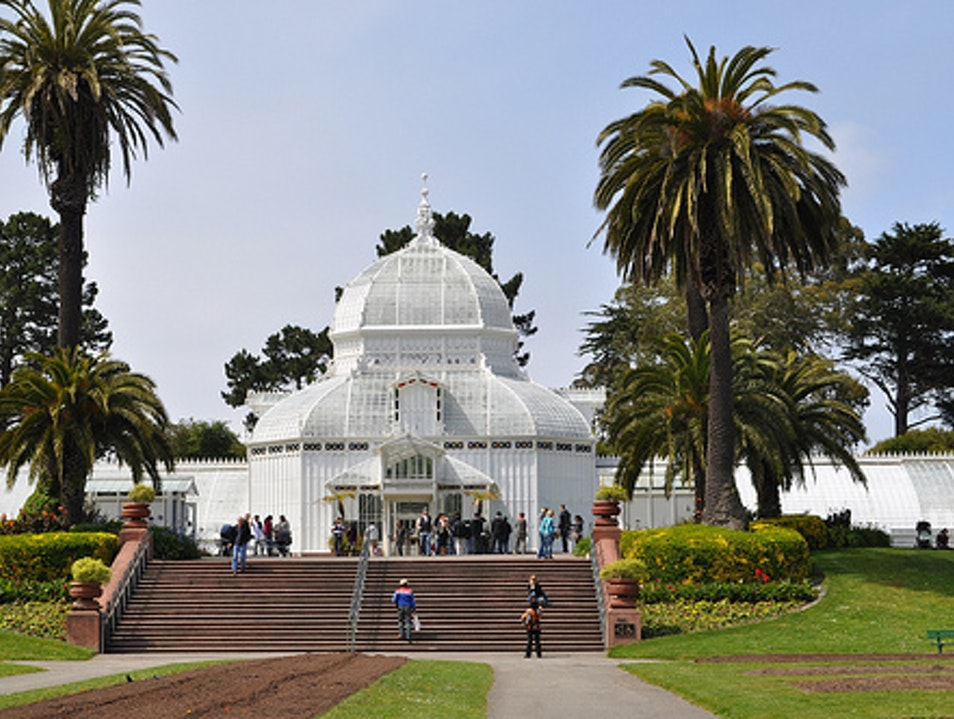 Historic Conservatory in Golden Gate Park San Francisco California United States