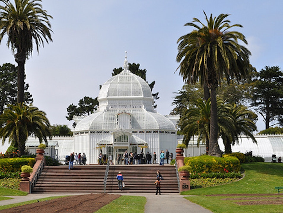 Historic Conservatory in Golden Gate Park