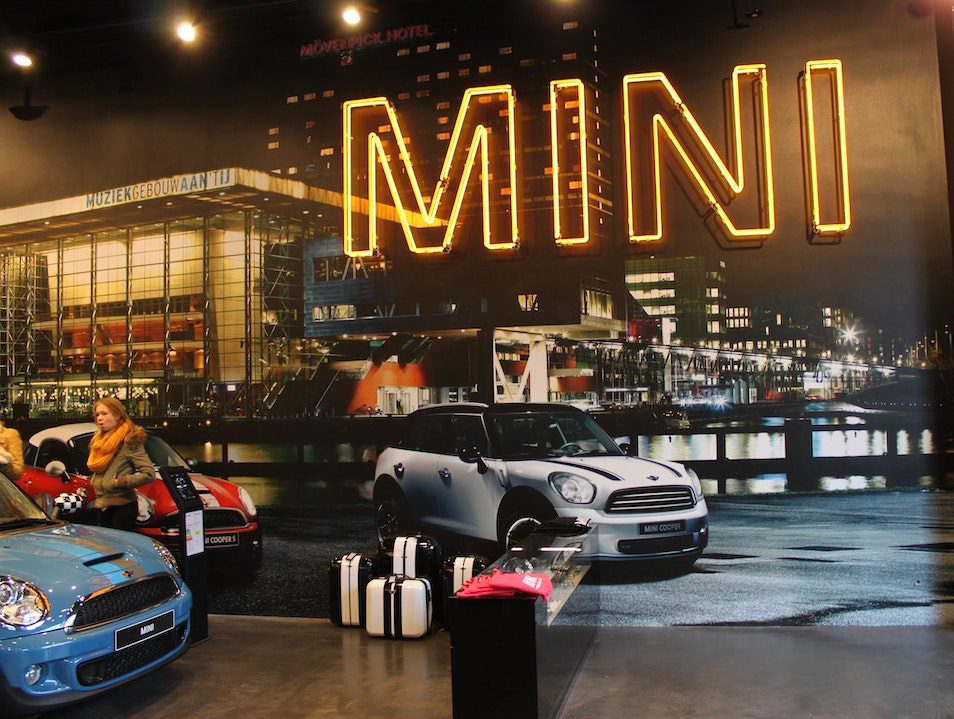 MINI Brand Store  Amsterdam  The Netherlands