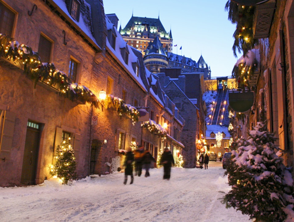 One Winter in Quebec