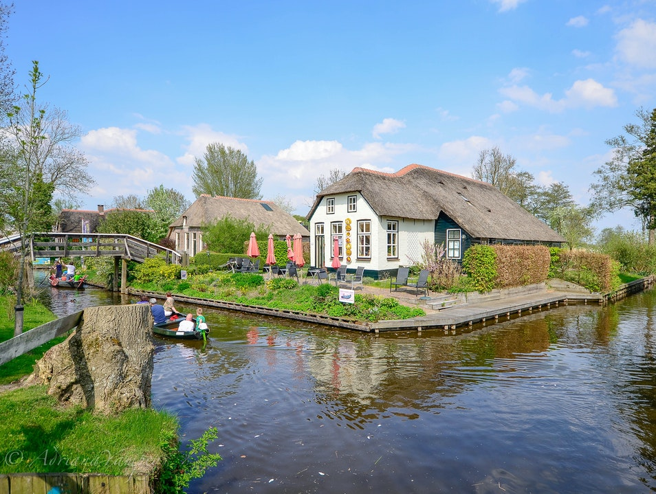 Terrace with a view Giethoorn  The Netherlands