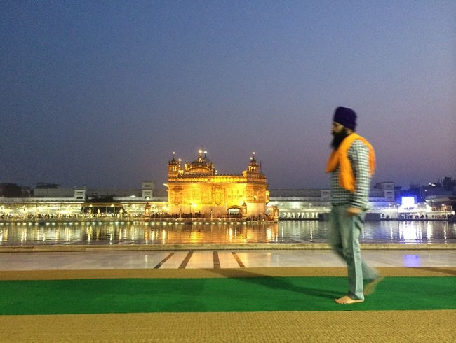 Sunrise at the Golden Temple