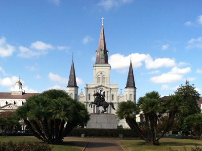 Jackson Square New Orleans Louisiana United States