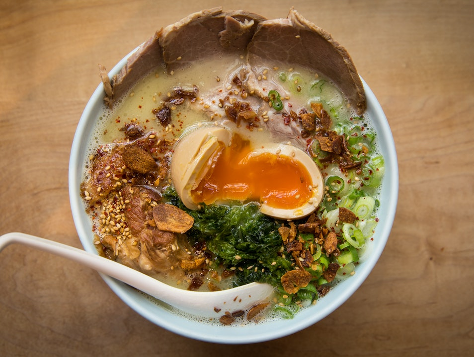 Try the Seaweed Ramen Vancouver  Canada