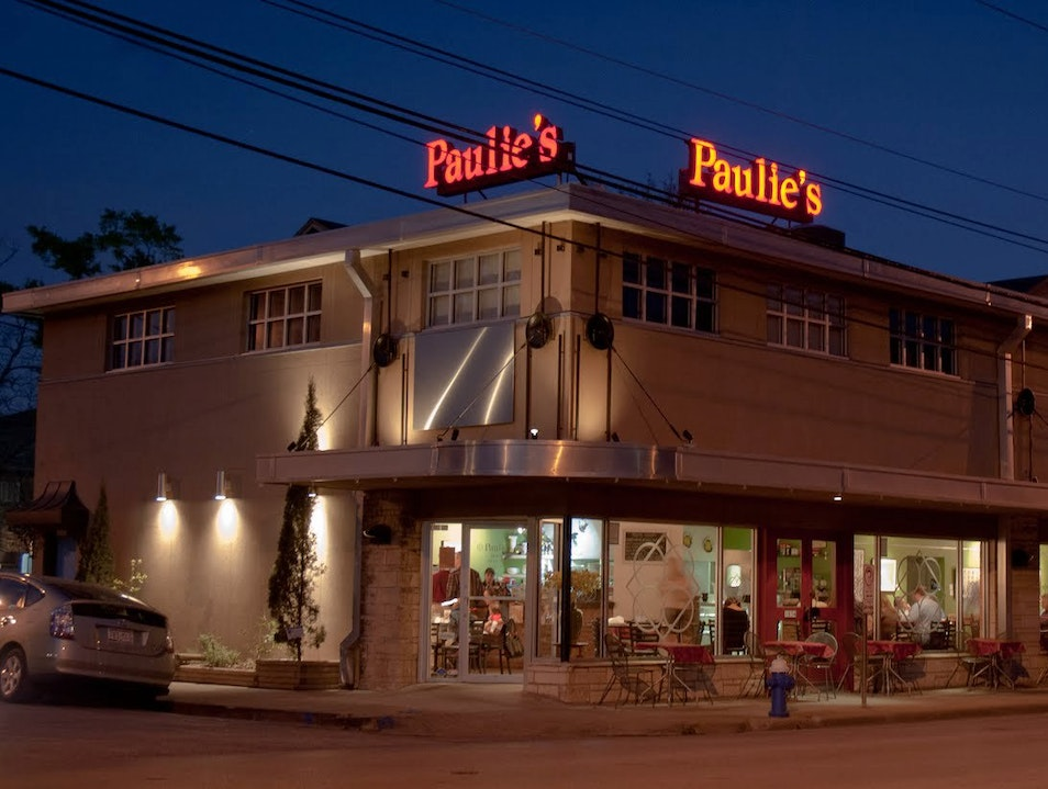 Take a Break at Paulie's Houston Texas United States