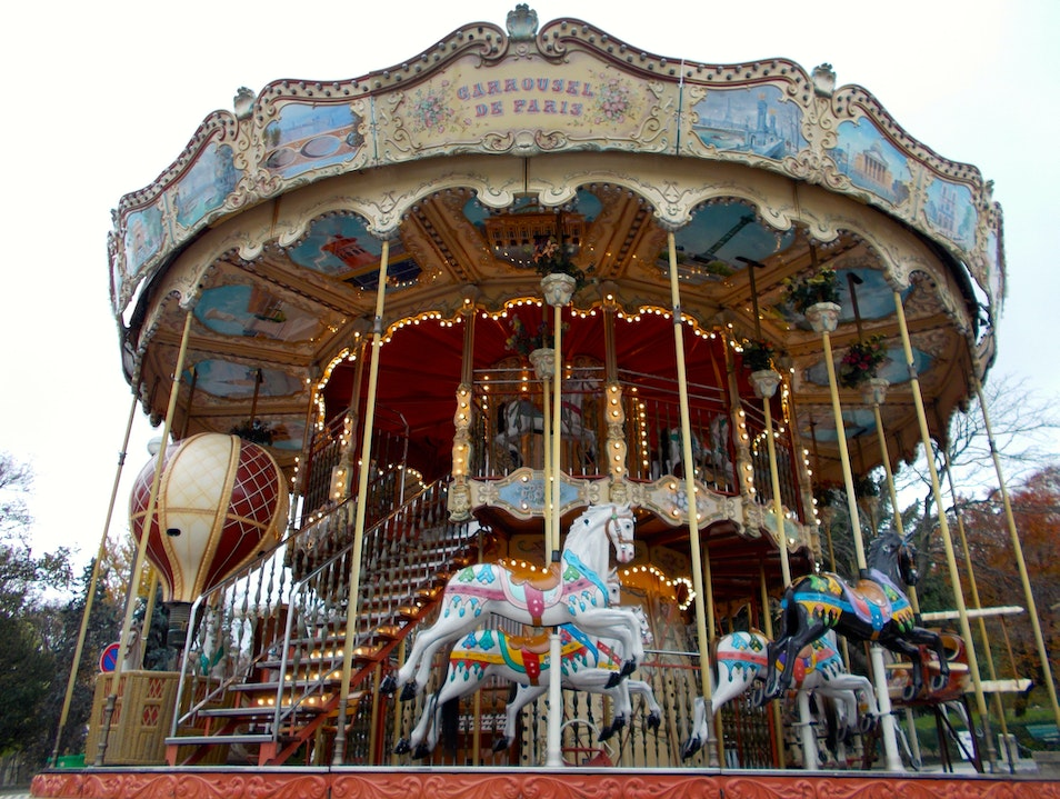 Curious Carousels of Paris