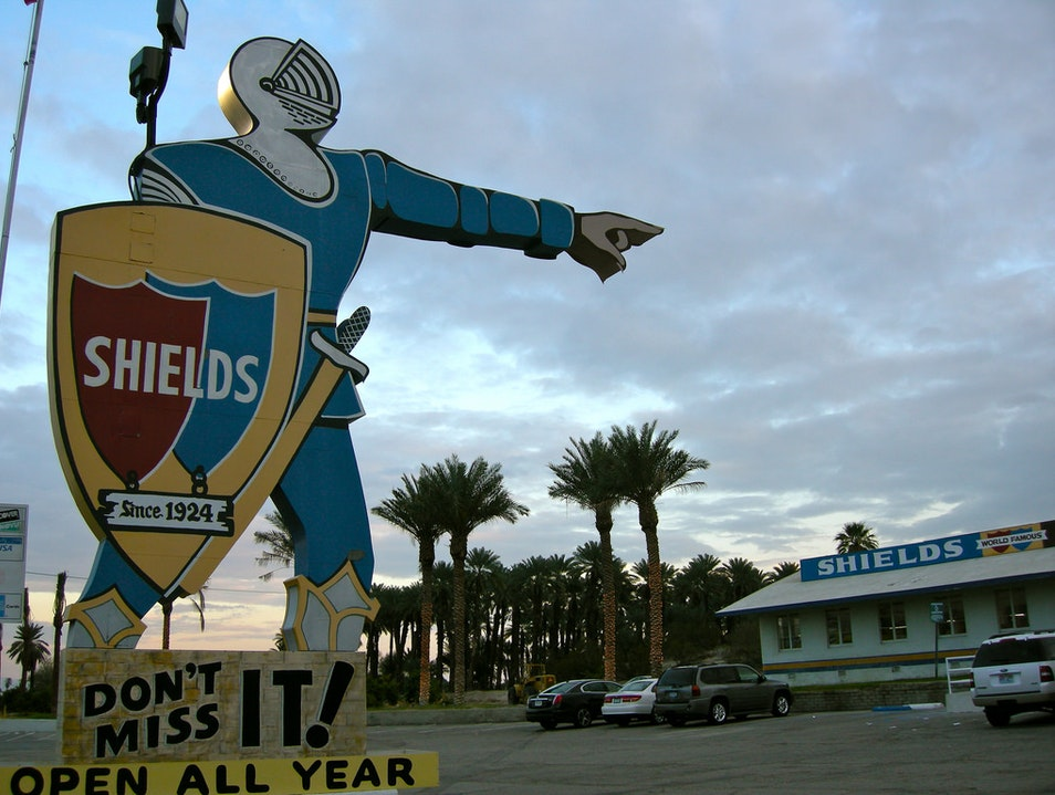 Sweet Shakes & Delicious Dates at Shields in Palm Springs  Indio California United States