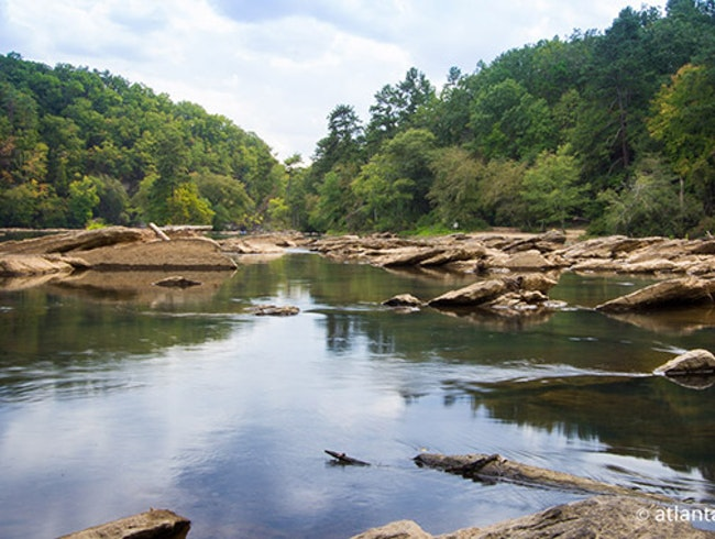 Escape the city and hike along the river.