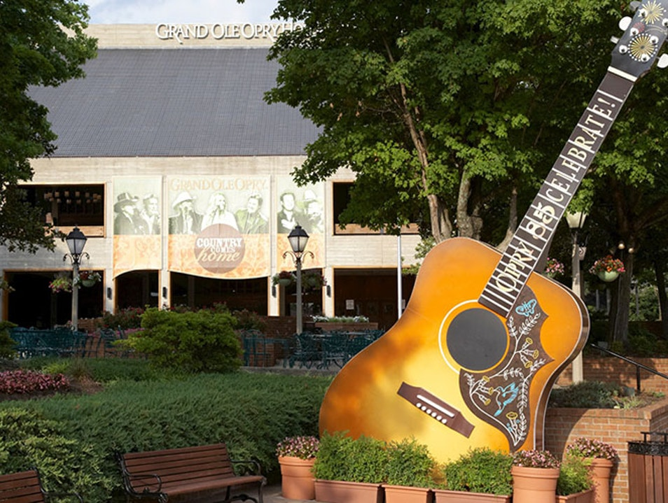 Country Music's Most Famous Stage Nashville Tennessee United States